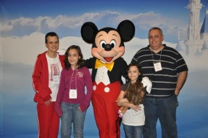 Lanhams with Mickey