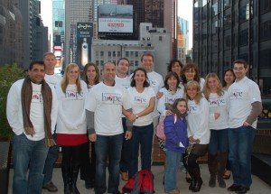 Team IOH at the 2011 NYC Half Marathon