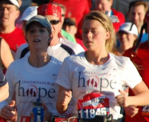 Run...Walk...Finish!  A Team IOH runner's story