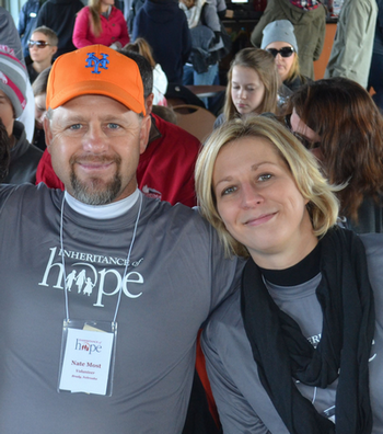 Nate and Wendy at the November 2015 Legacy Retreat®