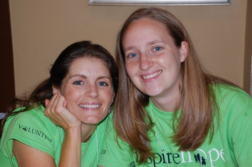 Rebecca (right) Brings Great Smiles!