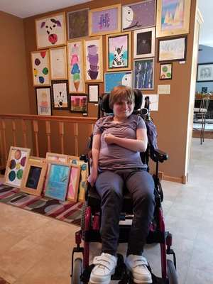 Hannah Black Inspires Hope through her Art