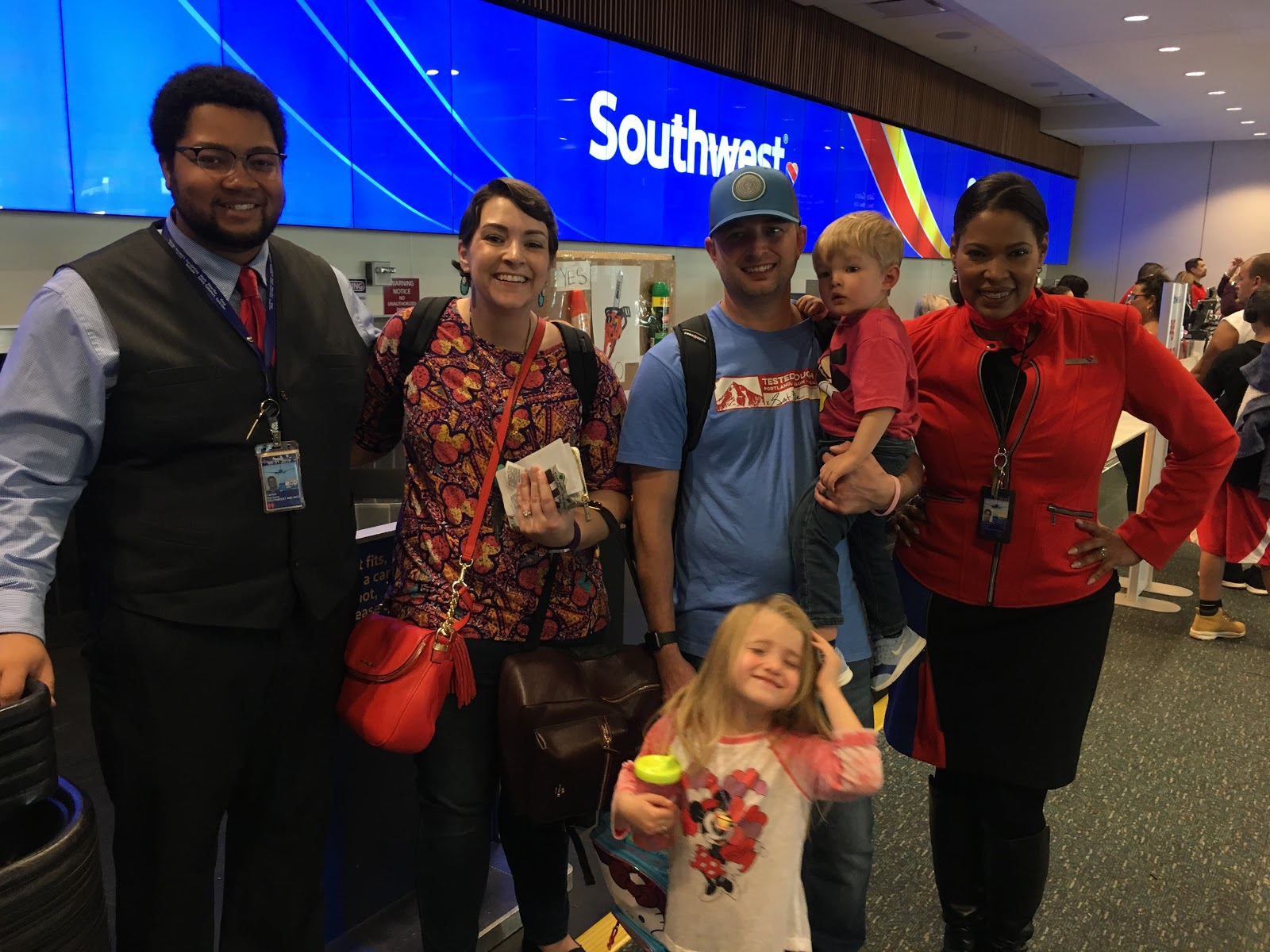 "Southwest ""luvs"" on Families Facing Terminal Illness"