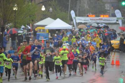 Hundreds Brave the Wet Weather to Inspire Hope