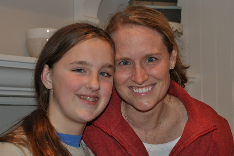 IoH Co-Founder, Kristen Milligan, with her daughter Ashlea
