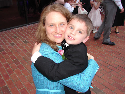 IoH Co-Founder, Kristen, with Luke as a toddler
