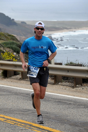 The Big Sur Marathon was JT's 27th marathon!