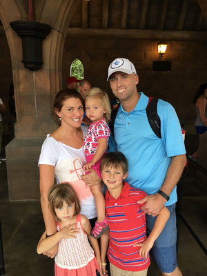 The Falk Family at Their Legacy Retreat in Orlando