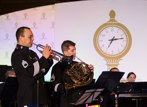 Performing at the Grand Central Terminal Centennial Celebration in NYC