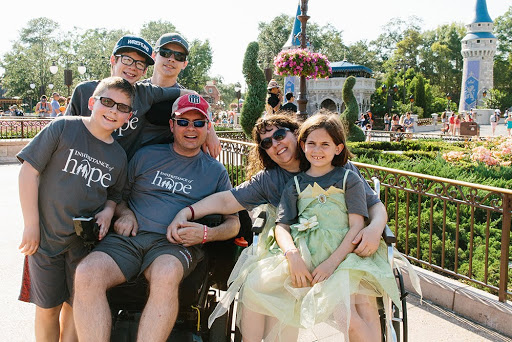 The Douglas Family made lifelong memories on their Orlando Legacy RetreatⓇ in May 2017