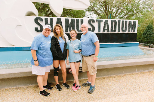 Precious families memories made at Sea World