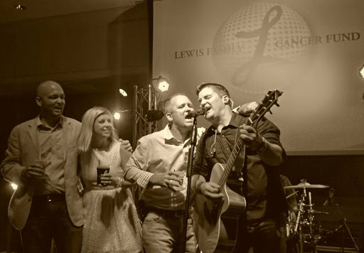 Making memories at a benefit for the Lewis Family Cancer Fund