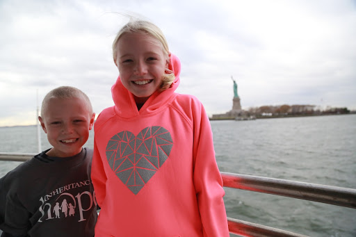 Graeme and Merritt making memories in New York City