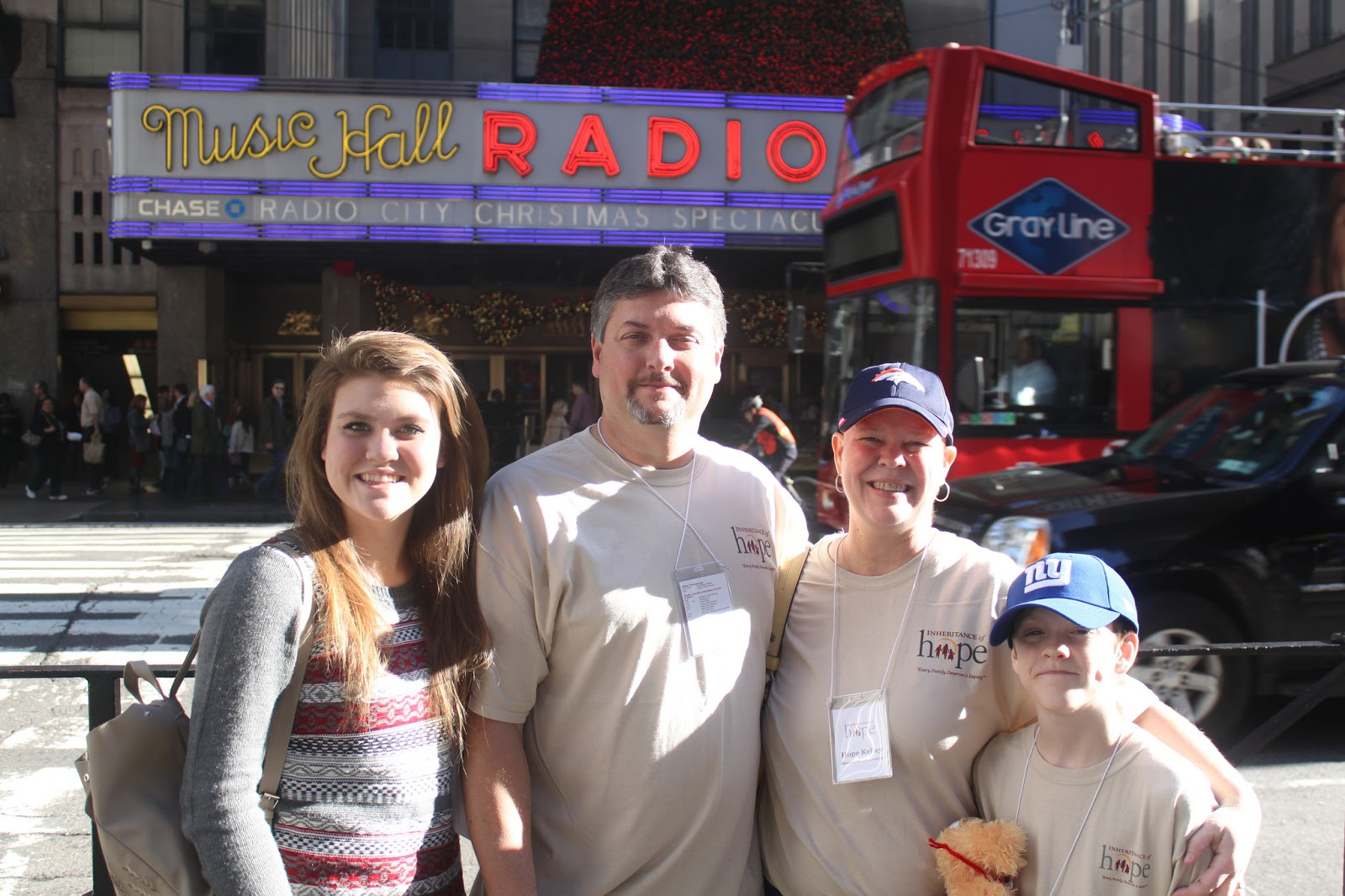 Shelby and her family on their NYC Legacy Retreat in 2014.