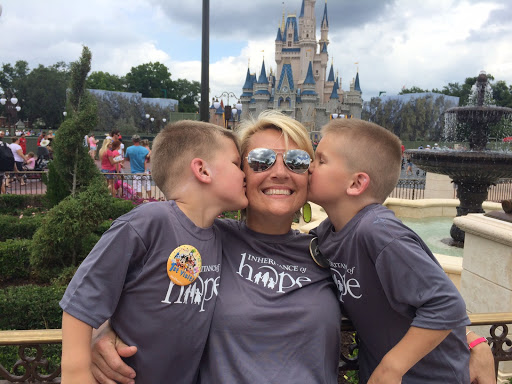 Holley Kitchen made precious memories with her children on their IoH Legacy RetreatⓇ