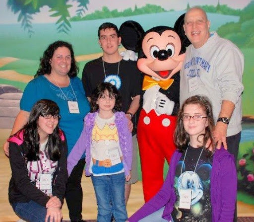 The Conti family on their 2011 Legacy RetreatⓇ