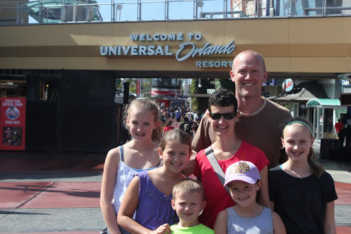 Smiles all around for the Maier family in Orlando