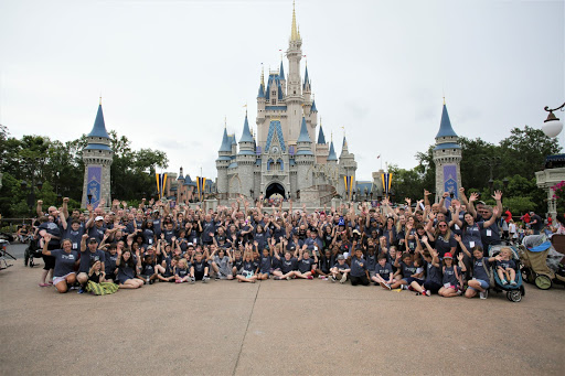 The Mathenys joined a big IoH family on their retreat