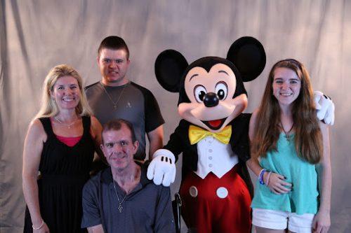 Kim, Steve, Jacob and Emily Bohanon on their IoH retreat in Orlando